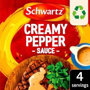 Schwartz Sauce Mix Creamy Pepper