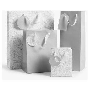 John Lewis 4 Gift Bags Mistletoe