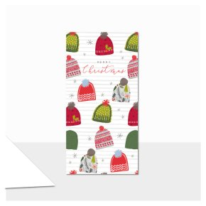 Merry Christmas (Hats) Gift Wallet