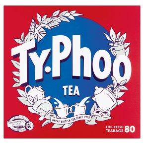Typhoo 80 Foil Fresh Tea Bags