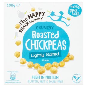 The Happy Snack Co Roasted Chickpeas Lightly Salted