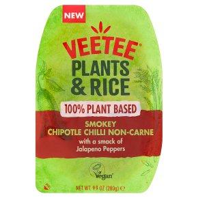 Veetee Plants & Rice Chilli Non-Carne