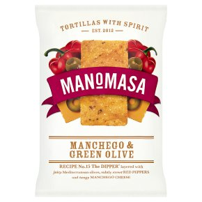 Manomasa tortillas manchego & green olive