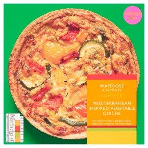 Waitrose Mediterranean Style Vegetable Quiche