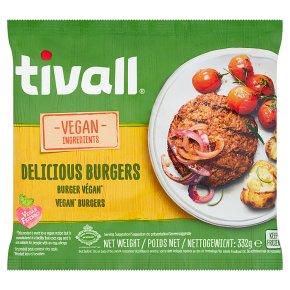 Tivall Vegan Ingredients Vegan Burgers