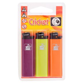 Cricket lighters