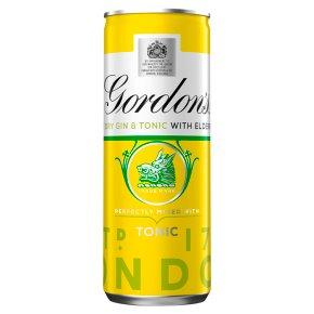 Gordon's Gin with Elderflower