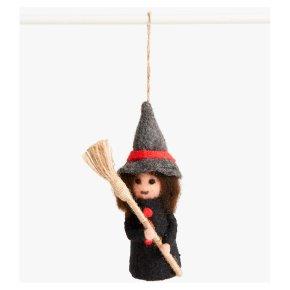 John Lewis Felt Witch Decoration