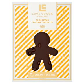 Love Cocoa Gingerbread 71% Dark Chocolate