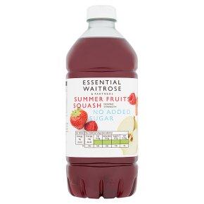 Essential Summer Fruits Squash No Added Sugar