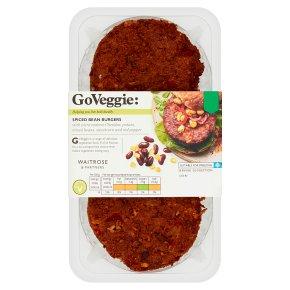 GoVeggie: Spiced Bean Burgers