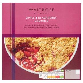 Waitrose Apple & Blackberry Crumble