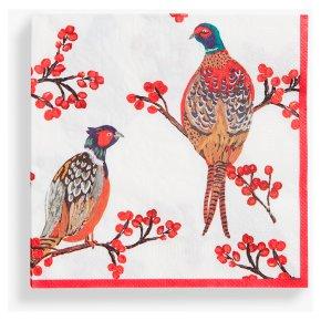 Talking Tables Pheasants Napkins