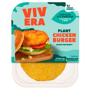 Vivera Plant Chicken Burgers