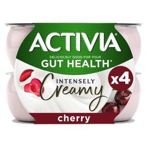 Activia Intensely Creamy Cherry Yogurts