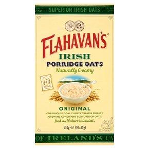 Flahavan's Irish Porridge Oats 10s Original