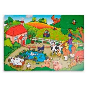 John Lewis Farm Floor Puzzle