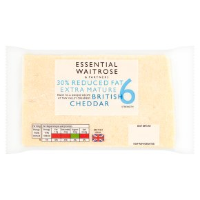 Essential 30% Reduced Fat Extra Mature Cheddar S6
