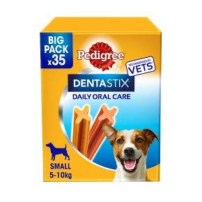 Pedigree Dentastix 35 Sticks Small 5-10kg Dog