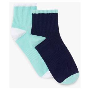 John Lewis Sport Socks Blue