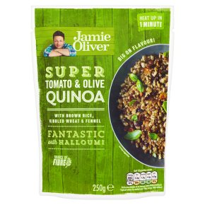 Jamie Oliver Super Tomato & Olive Quinoa