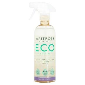 Waitrose ECO Lavender & Rosemary Glass Cleaner