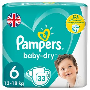 Pampers baby-dry 6 extra large 13.18g