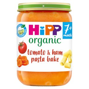 HiPP Organic Tomato & Ham Pasta Bake