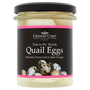 Clarence Court quail eggs