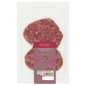 Waitrose 2 Venison Grill Steaks