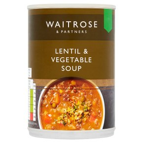 Waitrose Lentil & Vegetable Soup