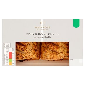 No.1 Pork & Ibérico Chorizo Sausage Rolls