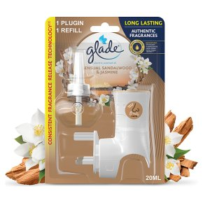 Glade Elec Holder Sandalwood & Jasmine