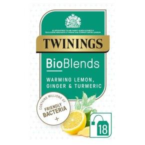 Twinings Bioblends Lemon Ginger & Tumeric 18s