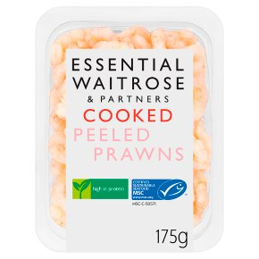 Essential Cooked Peeled Prawns