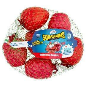 Munch Bunch Squashums Yogurts Strawberry Raspberry