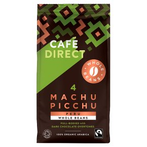 Cafédirect Fairtrade Machu Picchu Whole Beans