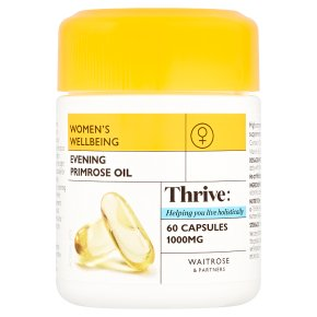 Waitrose Evening Primrose Oil