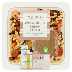Waitrose Wheatberry & Bean Salad
