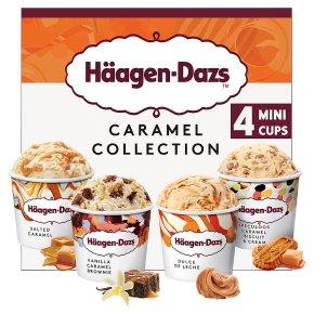 Häagen-Dazs Caramel Ice Cream Minicups