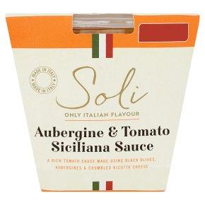 Soli Aubergine & Tomato Siciliana Sauce