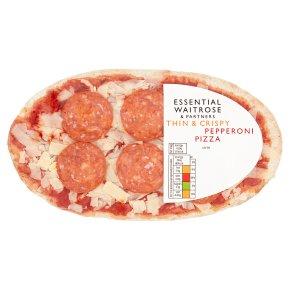 Essential Thin & Crispy Pepperoni Pizza
