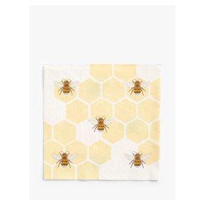 John Lewis Honecomb Bee Napkins 33cm