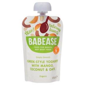Babease Yoghurt Mango Coconut Oats
