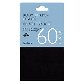 John Lewis 60 denier black opaque tights (medium)