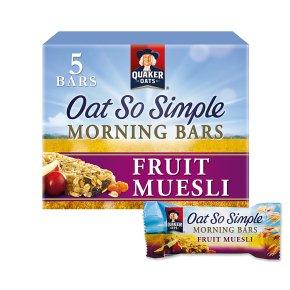 Oat So Simple Morning Bars Fruit Muesli