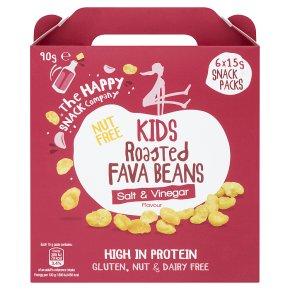 The Happy Snack Co Kids Fava Beans Salt & Vinegar
