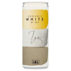IGO Organic White Wine Can