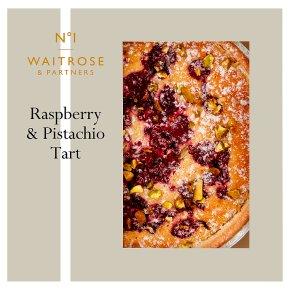 No.1 Raspberry Pistachio & Rose Tart