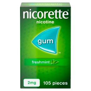 Nicorette Freshmint 2mg Nicotine Gum